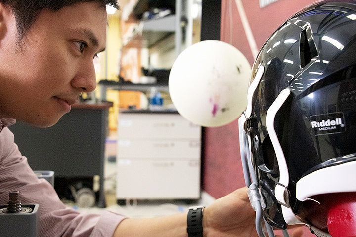 Virginia Tech Helmet Testing