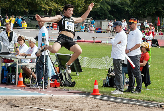 track and field jumper